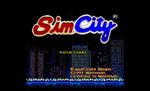 SimCity Title Screen