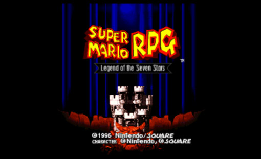 Super Mario RPG Title Screen
