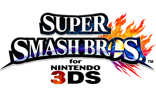 Super Smash Bros 3DS Title Screen