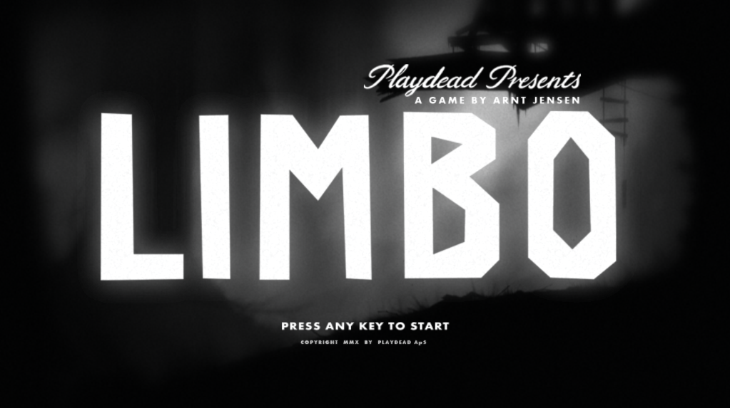 LIMBO Title Screen