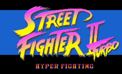 Street Fighter 2 Turbo Title Screen