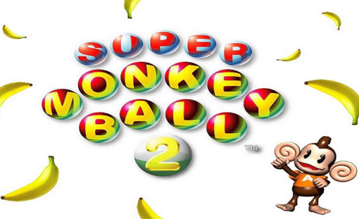 Super Monkey Ball 2 Title Screen