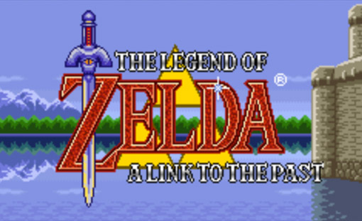 The Legend of Zelda: A Link to the Past Title Screen