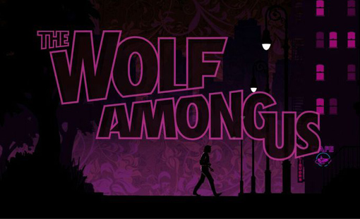 The Wolf Among Us Title Screen