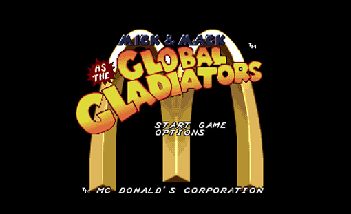 Mick and Mack as Global Gladiators