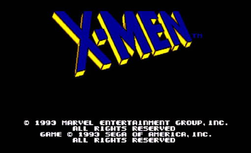 X-Men Title Screen