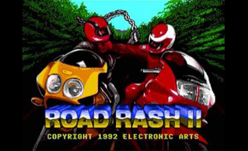 Road Rash II title screen