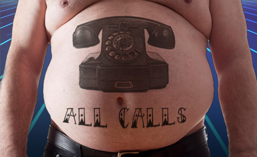 All Calls Between Fat and Skin