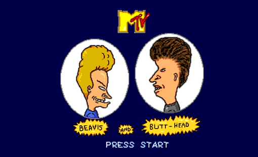 Beavis and Butt-Head Title Screen