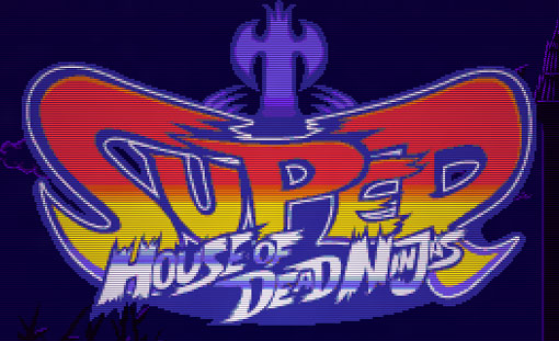 Super House of Dead Ninjas Title Screen