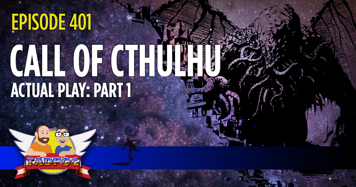 Call of Cthulhu Actual Play Part 1