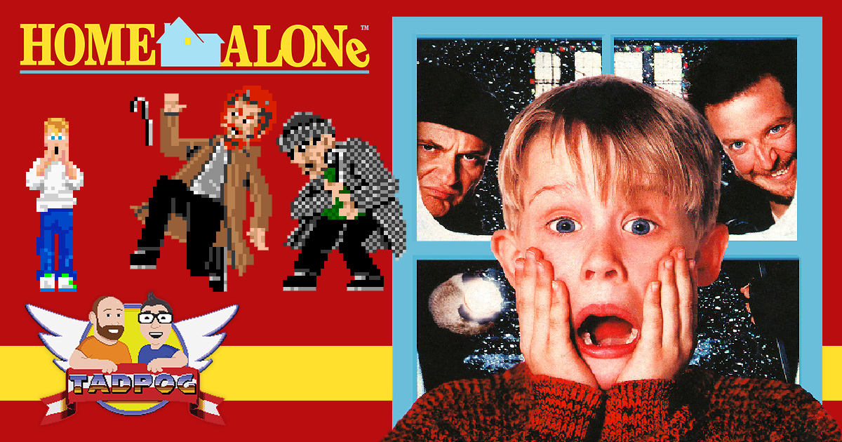 Home Alone for the SNES